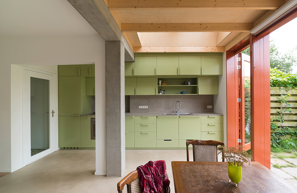 1212 Brahmslaan Leiden / Verbouwing woonhuis