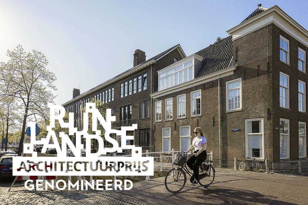 1301 Huishoud- en Nijverheidsschool Leiden / Herbestemming naar 16 woningen