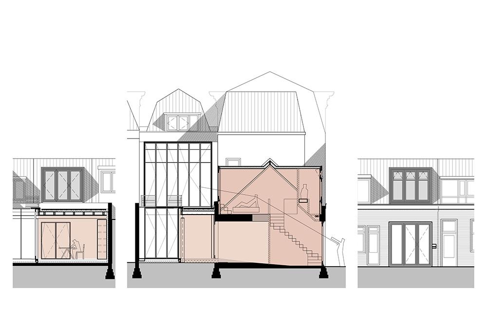 1509 Hogewoerd Leiden / Verbouwing woonhuis